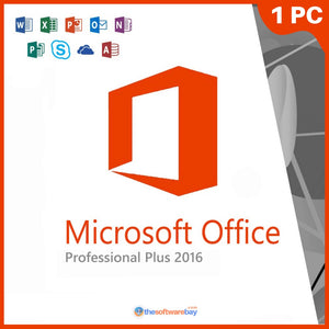 Office 2016 Pro Professional Plus (1Pc)