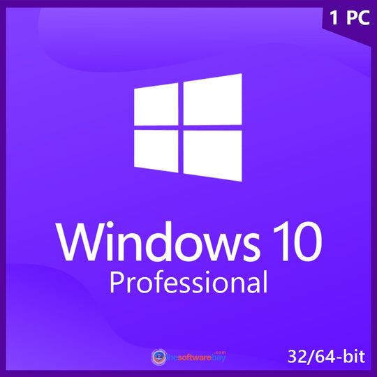 Windows 10 Professional -  Product Key for 1 PC