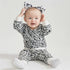 Combed Cotton Leopard Clothing Set