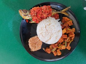 (No.4) Nasi Padang Ikan Sambal Belado (Authentic Red Chilli)