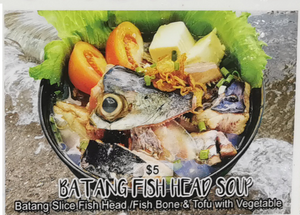 Batang Fish Head Soup