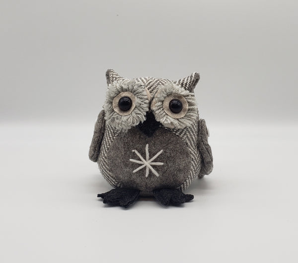 Snowflake Owl Christmas Decoration