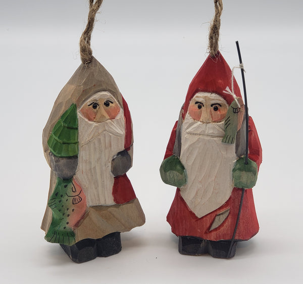 Friends of Santa- Vintage Christmas ornament