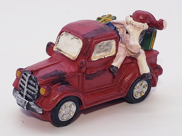 an old truck Christmas decoration