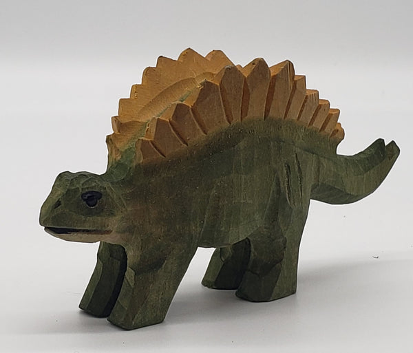 wooden dinosaur, Christmas decoration, tabletop
