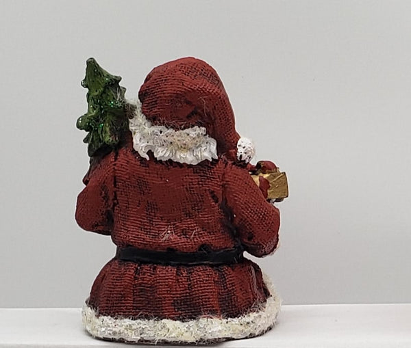 Santa sitting on the table- Christmas decorations | Tabletop Decor