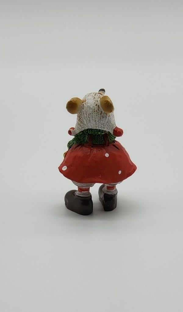 Freshy Mice Standing Ornament