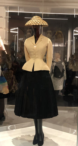Christian Dior the Bar Suit and Hat