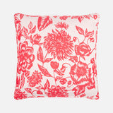 Red Shaku sustainable silk scarf cushion collection
