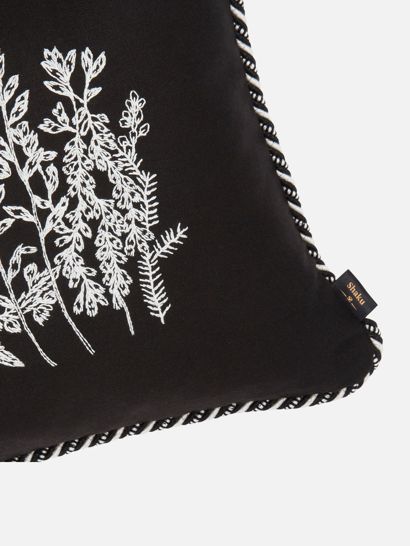 Meadow Cushion Black