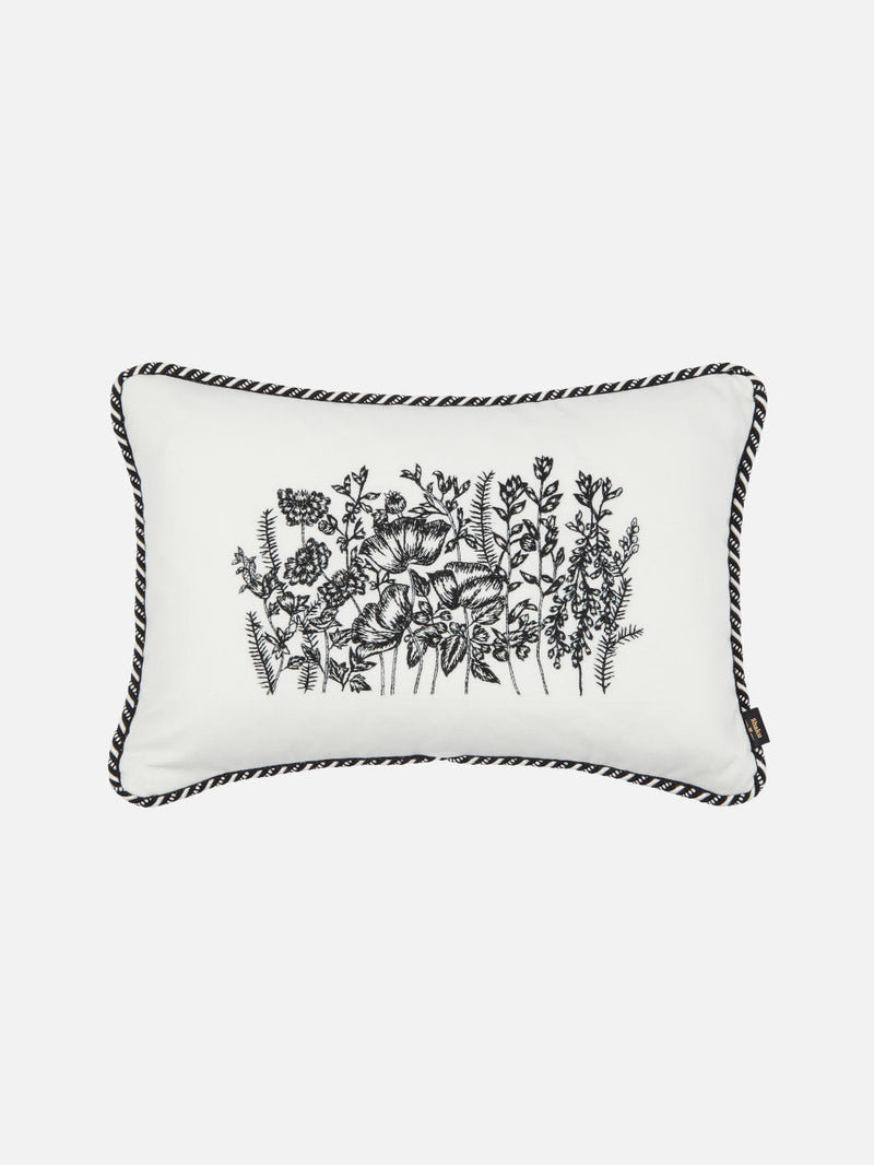 Meadow Cushion White