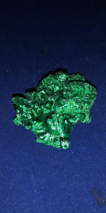 Raw beautiful malachite crystal