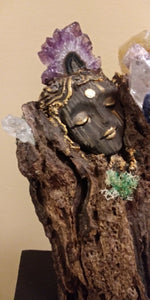 Drift wood Gaia healing Altar Art ©