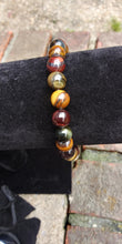 Load image into Gallery viewer, Tri Tigers eye Bracelet