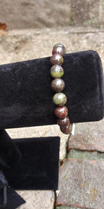 Dragons Blood Jasper Bracelet