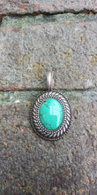 Load image into Gallery viewer, Vintage Sterling Pendant of Grounding