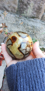 Septarian Crystal Sphere... Beautiful