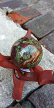 Load image into Gallery viewer, Dragons blood Jasper stone sphere