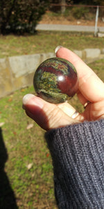 Dragon Blood stone Sphere