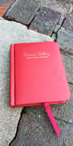 Fortune telling birthday book ( preowned )