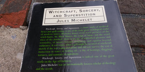 Witchraft, sorcery and superstition ( preowned)