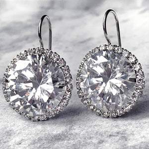 unbelievable CZ earrings