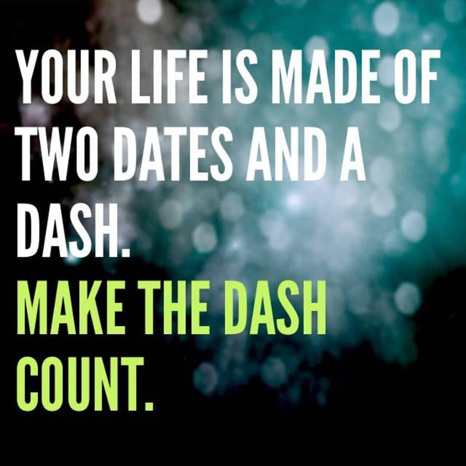 On A Living Spree – Make The Dash Count