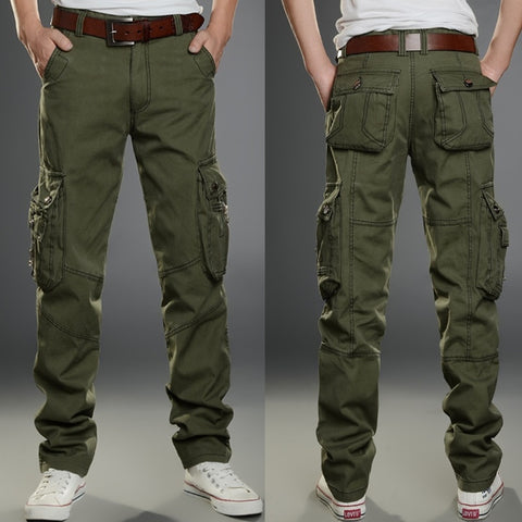 Men's  Casual Military Long Pants