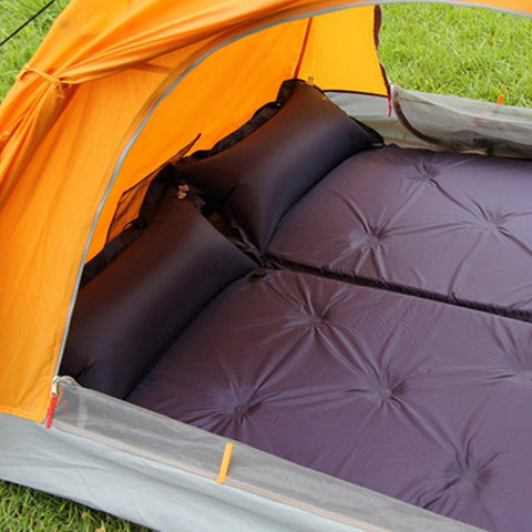 Self Inflatable Portable Air Mattress Mat Pad Pillow