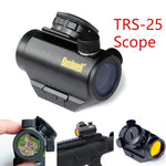 TRS-25 Holographic Red Dot Sight Rifle Laser Scope 1x25mm with LED Light Hunting Scope Adjustable Telescope