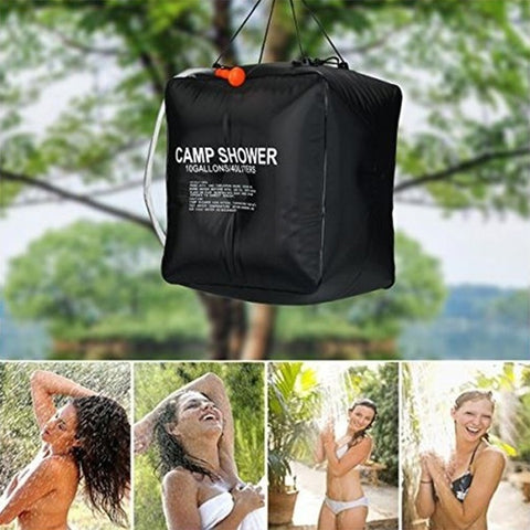 Outdoor Camping Supplies Field Solar Shower Bag Hand Wash Portable Water Bag 40L 20L ZYX1358