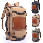 Travel Large Capacity Backpack Male Luggage Shoulder Bag Computer Backpacking  Functional Versatile Bags