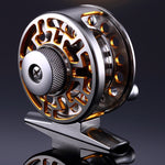 Fly Fishing Reel 2+1 BB High Strength Die Casting Aluminium Alloy Spool Fly Reels Fishing Tackle Pressure Adjustable