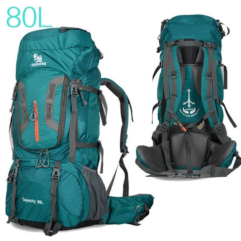 Camping Hiking Backpacks Large Capacity 80L