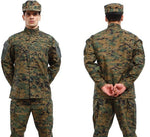 BDU Garments Inspired Military Tactical Hunting Airsoft Combat Gear Training Uniform sets Shirt + Pants A TACS FG Multicam ACU