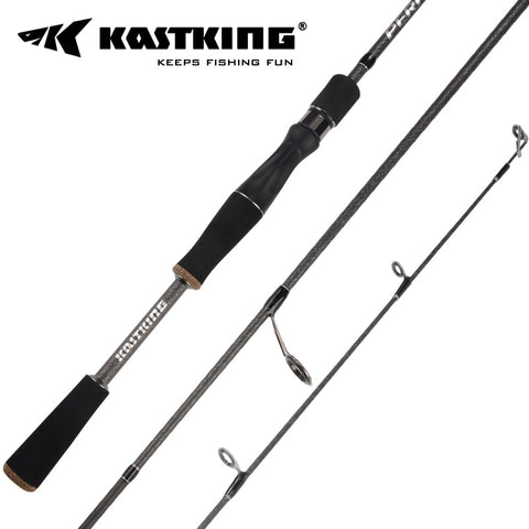 KastKing Perigee 2 Tip Spinning Baitcasting Fishing Rod MF & MH Actions 7 14g Lure Weight Casting Lure Fishing Rod