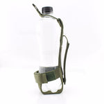 Wolfslaves Adjustment Nylon Waist Belt Water Bottle Holder Carrier Pouch Military MOLLE Outdoor Hunting Cycling Gear