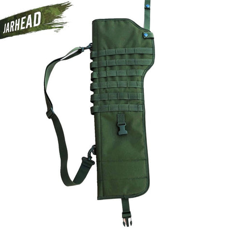 Tactical Rifle Shotgun Scabbard Holster Military Army Gun Bags Assault Shotgun Rifle Long Gun Knife Hunting Bag Army Pouch Case