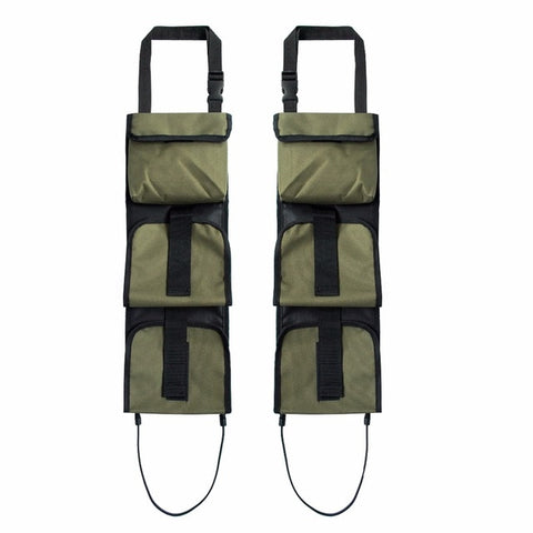 Vehicle Front Seat Storage Gun sling Bag Back Seat Hanging Rifle Rack Case Hunting G un Holsters Organizer With Pockets