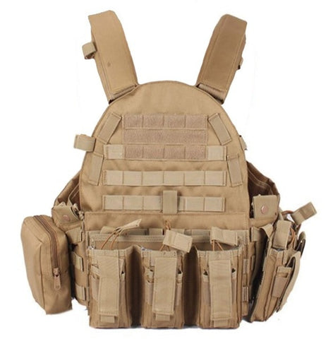 TAK YIYING Tactical Vest Body Armor With Mag Pouches Hunting Airsoft Military Combat Gear on Aliexpress.com | Alibaba Group
