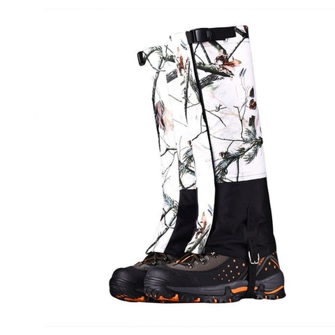 Outdoor Oxford Cloth Snow Field Camo Shoe Cover Jungle Desert Hiking Climbing Waterproof Sandproof Breathable Hunting Gear Cover