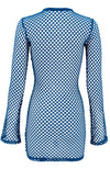 The Banshee in Blue / Fishnet Zip Up-Cover Ups-Breezy Rack