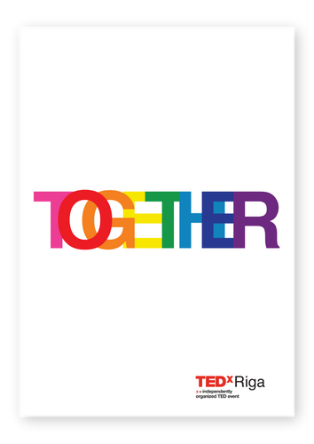 TOGETHER | Rainbow | Poster