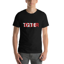 Load image into Gallery viewer, TOGETHER | Black Short-Sleeve Unisex T-Shirt
