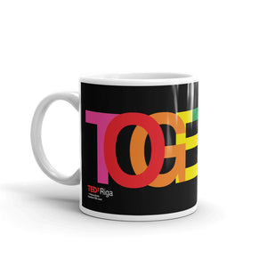 TOGETHER | Rainbow | Black Mug