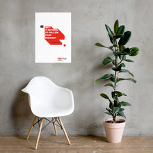 Load image into Gallery viewer, Ingus Augstkalns | White Poster