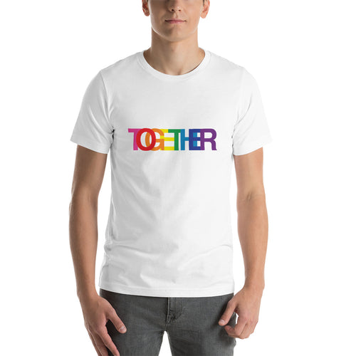 TOGETHER | Rainbow | White Short-Sleeve Unisex T-Shirt
