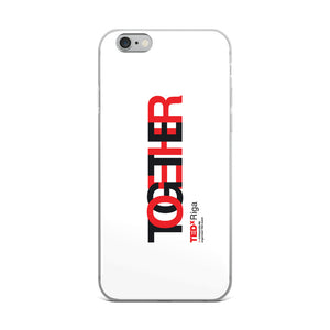 TOGETHER | White iPhone Case