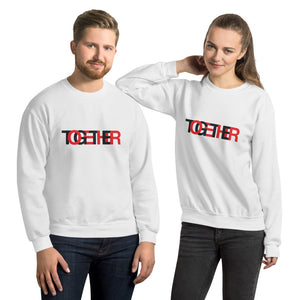 TOGETHER | Classic | White Unisex Sweatshirt