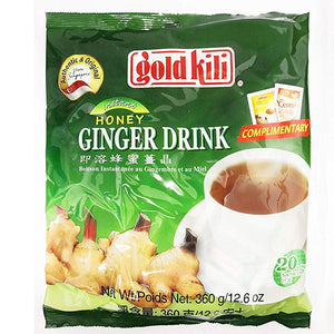 Gold Kili Instant Honey Ginger Tea Drink